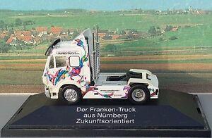 Herpa-162340-Franken-Truck-Solo-Zugmaschine-MB-SK-88-1-87