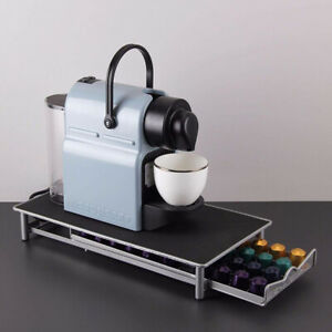 Stylish-Stainless-Steel-40-Coffee-Capsule-Storage-Drawer-Holder-for-Nespresso