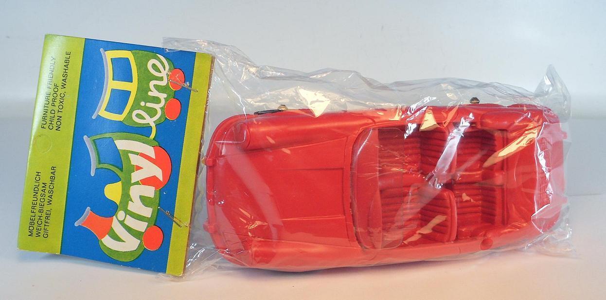 Vinilo line ca ca ca 1 24 Porsche 356 converdeible rojo goma vinilo Rubber en bolsas de plástico,  625 e0642d
