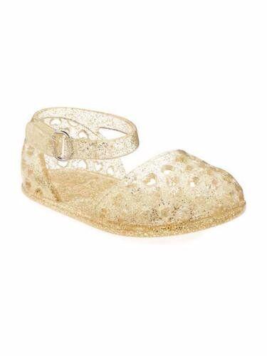 Schoenen New Infant Girls Old Navy Gold Glitter Jelly ...