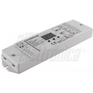 Centralina-Controller-Strisce-RGBW-12-24-36V-5A-4-canali-controllo-con-pulsanti