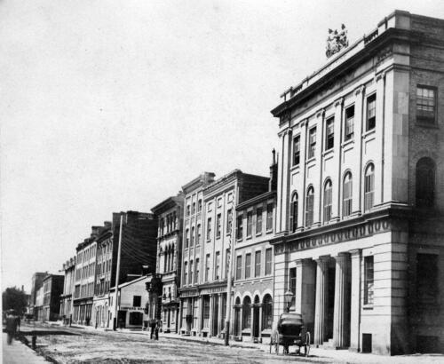 Toronto Stock Exchange 1860s Photo