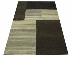 Tapis-Design-Miami-patchwork-160x230-cm-100-laine-Touffete-a-la-main-Nature
