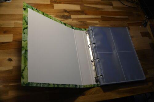 Sammelalbum für Ansichtskarten und Postcrossing für 400 Karten Greenlaubdesign