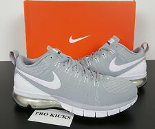 NIKE AIR MAX TR180 TB RUNNING SHOES WOLF GREY WHITE NEW 723991-011 (SIZE 8.5)
