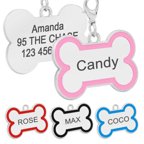 1 x PINK DOG TAG KEY CHAIN Tough Guys Party Favours PINK Printed Metal Dog Tag
