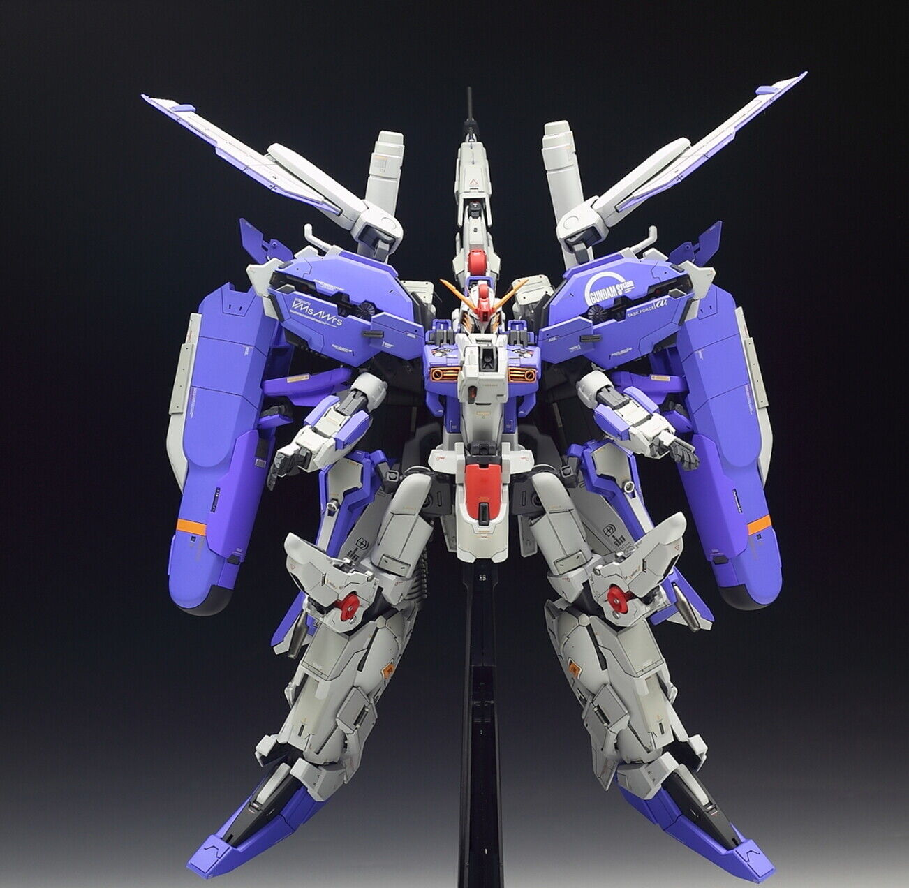 THE51 Gundam 1 100 MG EXTRA-FIT for MSA-0011 Ex-S Resin Conversion Original Kit
