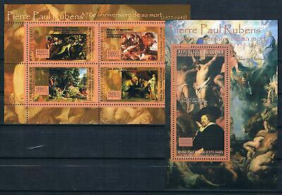 Guinea; Gemälde P. P. Rubens; Kleinbogen + Bl. Kompl. Pfr.** Das Ganze System StäRken Und StäRken