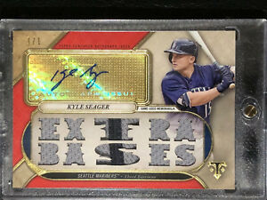 2017-Triple-Threads-Kyle-Seager-Auto-Game-Used-Memorabilia-Ruby-1-1-Mariners
