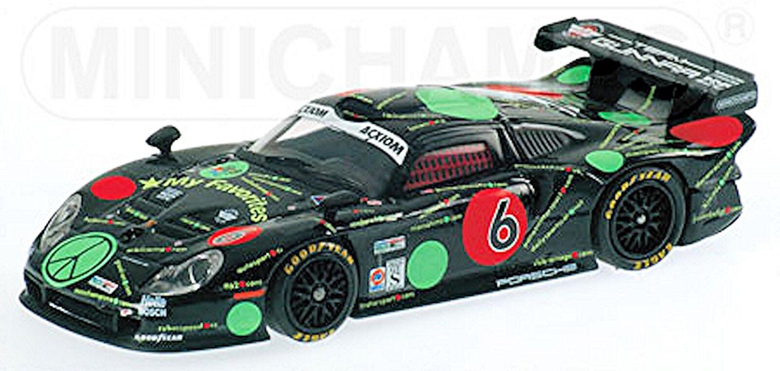 Porsche 911 GT1 Gunnar Porsche G99 Barber Park  250 Grand au 2003  6 1 43    gros pas cher