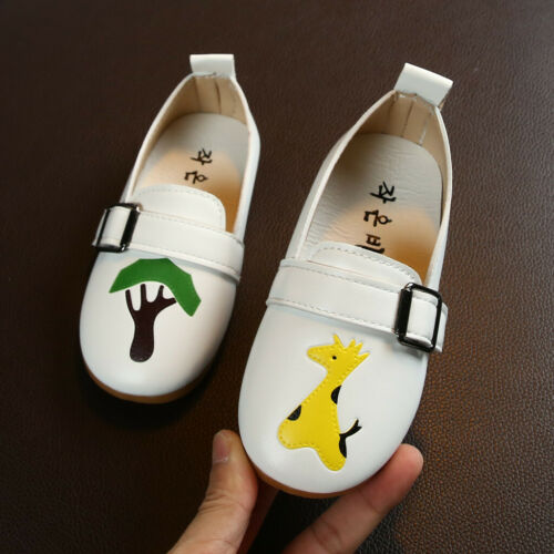 Toddler Girls Boys Shoes Cartoon Animals Print Shoes Kids Baby Sandals Sneakers