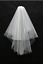 White-Ivory-Layers-Wedding-Bridal-Veil-Lace-Cathedral-Length-Birdcag-Edge-Bride thumbnail 4
