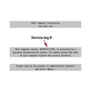 how to remove bios password on dell desktop