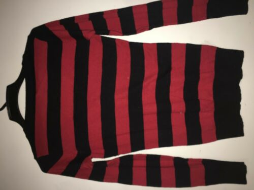 S Maat Rood Rn Hals Love Sweater Zwart Dames 8389 V 111953 10 S Culture Streepje qSOXvRw