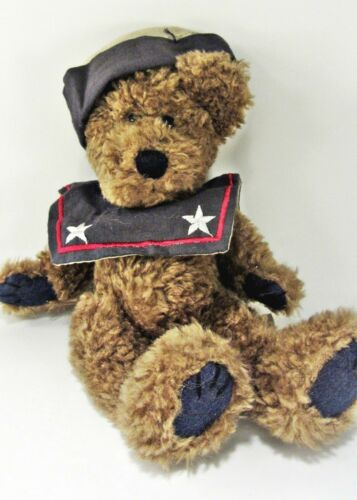 """Boyds Bear - Worthington Fitzbruin - Sailor Teddy Bear 6"""" tall sitting position"""