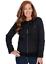 Leopard Woven Zip Jacket Sizes XXS XS M L NEW Pamela McCoy Reversible Black