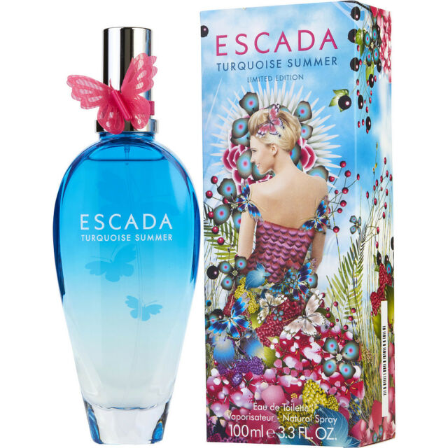 Escada Turquoise Summer Eau de Toilette Women's 100 ml 3.3 oz