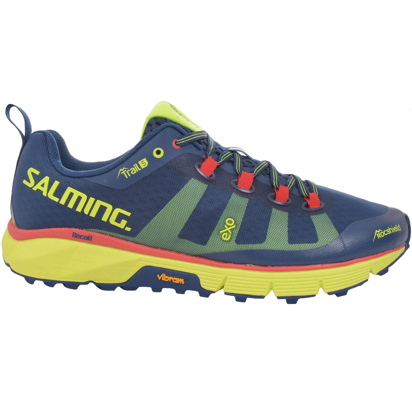 Salming Herren Trail 5 Wettbewerb Laufen Sports Training Turnschuhe - Blau