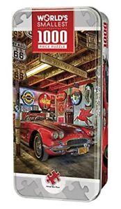 MasterPieces-Jigsaw-Puzzle-1962-Corvette-Neon-Sign-Route-66-Coca-Cola-Chevy-Tin