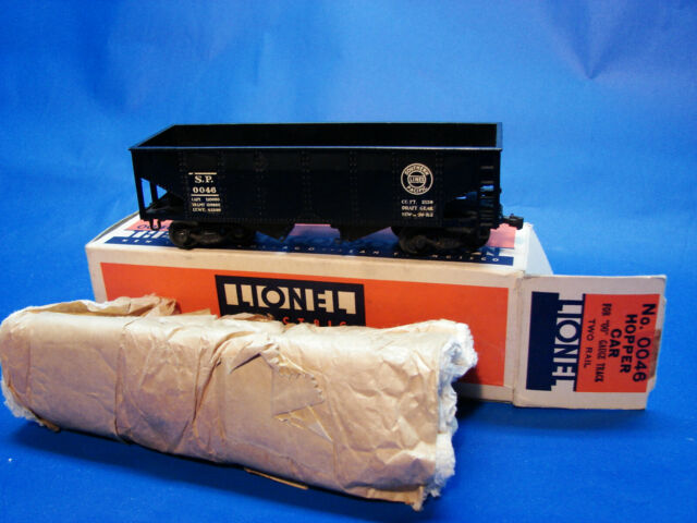 1940 Prewar Lionel OO Scale 0046 SP 2-Rail 1489 Hopper Car, LN/OB