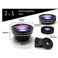 Smart phone Photography Surper Wide Angle Lens 15x Macro Lens High Quality NEW