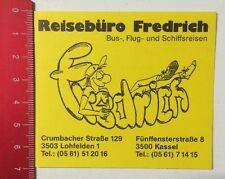 ADESIVI/Sticker: agenzia di viaggio Fredrich-bus, e volo viaggi nave (08051637)