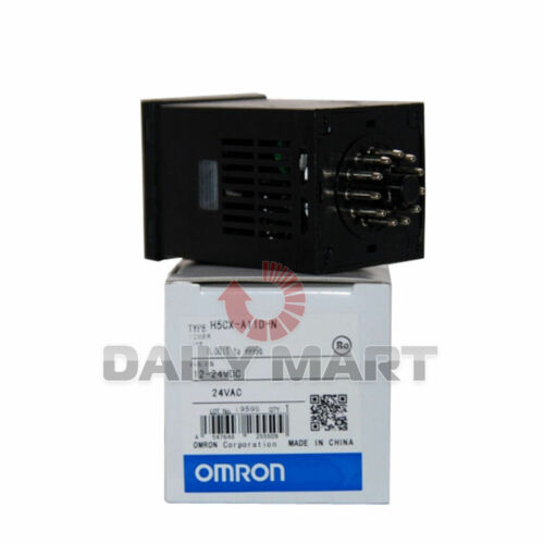 1PC New Omron H5CX-A11D-N Digital Timer H5CXA11DN 12-24VDC Supply Voltage DC