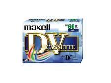 1 X Maxell SP60LP90 DV-60 DV Cassette Digital Video Camera Cassette Tape NEW