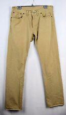 RRL Ralph Lauren Chino Slim Fit Selvedge Khaki Tan Japanese Jeans 34 X 34