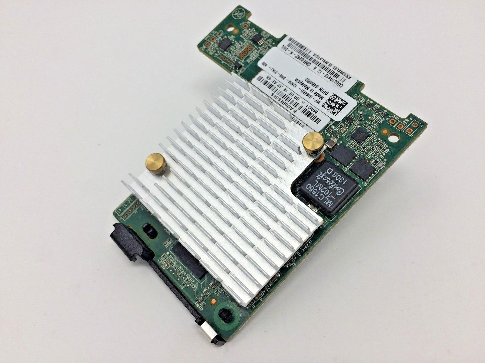 464RD Dell Qlogic Dual Port 10GB/s Fibre Channel Network Card 0464RD QME8262-K-D