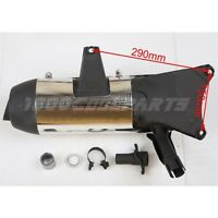 Exhaust Muffler Pipe Assembly For 250cc Scooter Moped Jonway Yy250t