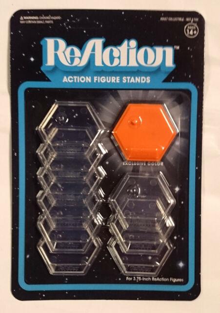 10 Stück NECA Standfüße für Actionfiguren transparent