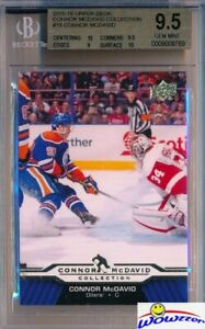 2015-2016-UD-Connor-McDavid-Collection-18-ROOKIE-BGS-9-5-GEM-MINT-Oilers
