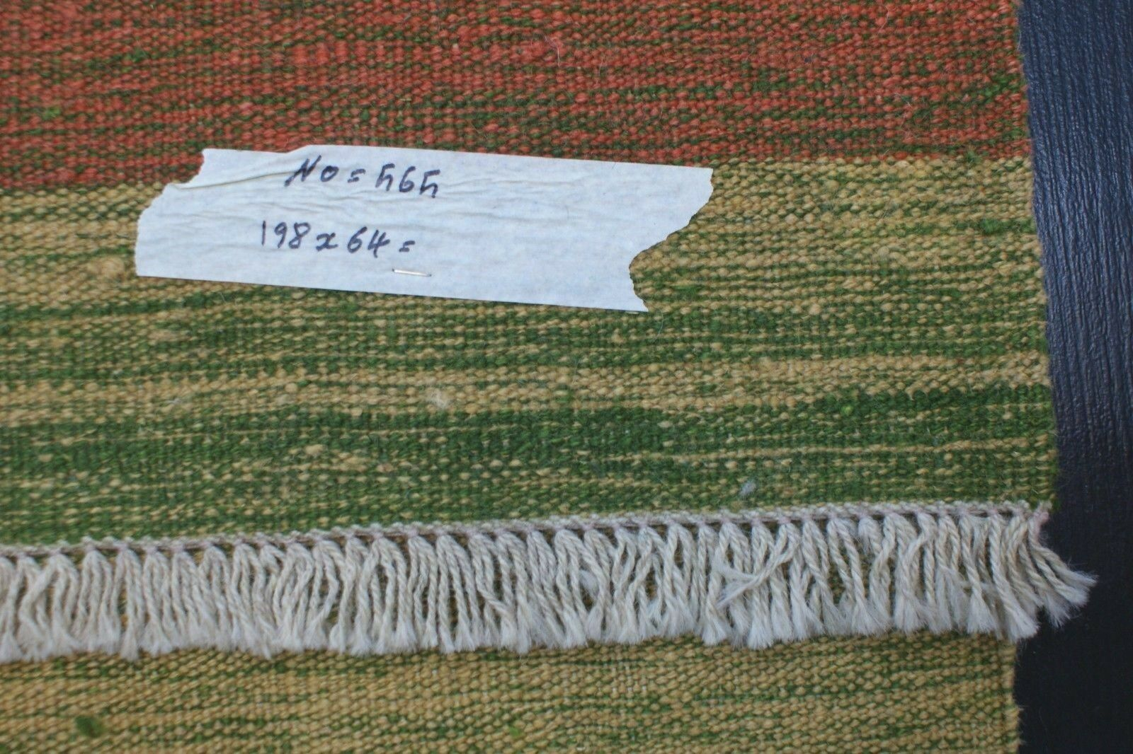 Nr Nr Nr 565 Handgewebter Per. Teppich Ghashgai KELIM Unikat Natur Farbe ca 198 x 64 4f1933
