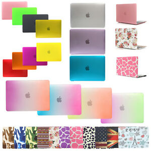Laptop-Rubberized-Hard-Case-Cover-Shell-for-Mac-Pro-13-15-034-Air-13-11-034-Retina-12-034