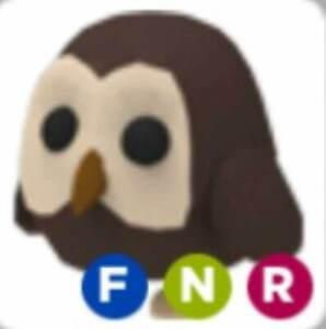 Read Desc Neon Owl Pet Fnr Adopt Me Roblox Flyable Neon
