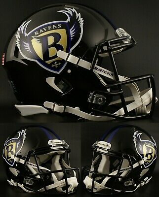 Riddell Baltimore Ravens Officially Licensed Speed Full Size Replica Football Helmet