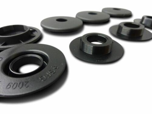 4x Opel Befestigungen Clips Halter für Fußmatten Gummimatten rund