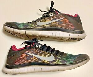 factory price ad186 99ecf Details about Nike Free 3.0 V5 PNT Women's Shoes Running Athletic Shoe  648341-068 (Size 9) HTF