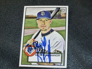 Kevin-Kouzmanoff-AUTOGRAPHED-Topps-Rookie-Card-BASEBALL-CARD