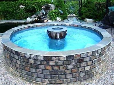 "36 CONCRETE MOLDS FOR GARDEN WALLS, COBBLESTONE PATIO PAVERS 4x6x1.5"" @ PENNIES"