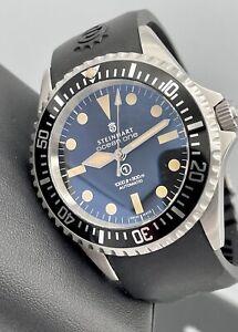 Steinhart Ocean One Vintage Military Swiss ETA 2824 Automatic 42mm Bracelet