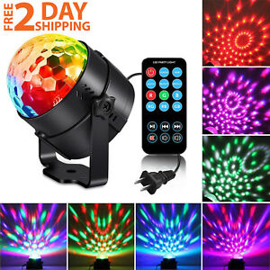 RGB-Strobe-Lamp-Rotating-Ball-LED-Stage-Laser-KTV-Party-Club-Disco-DJ-Light-Gear