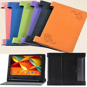 outlet store fcb85 50712 Details about PU Leather Flip Case Cover Skin For Lenovo YOGA Tab 3 10  YT3-X50M X50F/L+Film