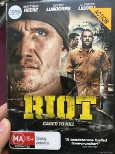 Riot-ex-rental-region-4-DVD-2015-Dolph-Lundgren-Chuck-Liddell-action-movie