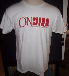 NEW-O-039-Neill-short-sleeve-t-shirt-white-with-red-Logo-VANTAGE-sz-Large-L