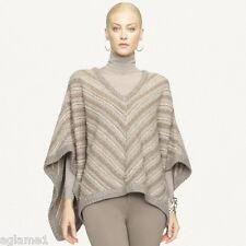 NWT $1898 Ralph Lauren BLACK LABEL Cashmere poncho Sweater coat  jacket XS / S