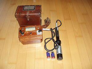 Geigerzaehler-Radiometer-guter-Zustand-Gamma-und-Betamessung-solide-DP-66