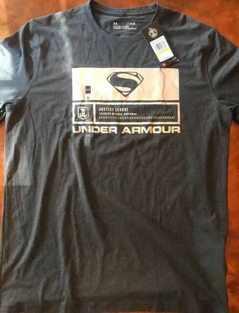 e2f06cd5 Mens Under Armour Alter Ego Justice League Superman Loose Foil Tee Shirt  Large