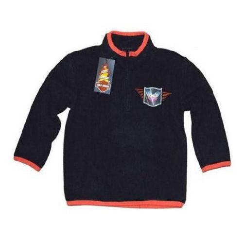 Harley-Davidson Toddler Boy Polar Fleece Half Zip Sweat Shirt Top